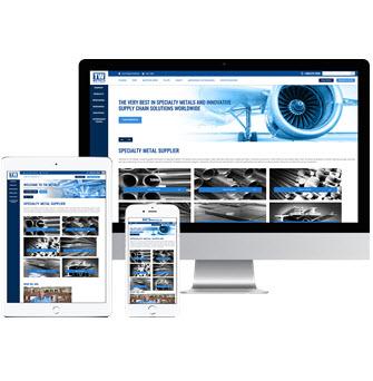 TW Metals Website image