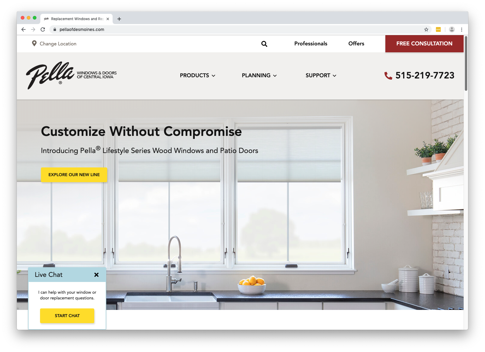 Local Websites for Pella Windows and Doors image