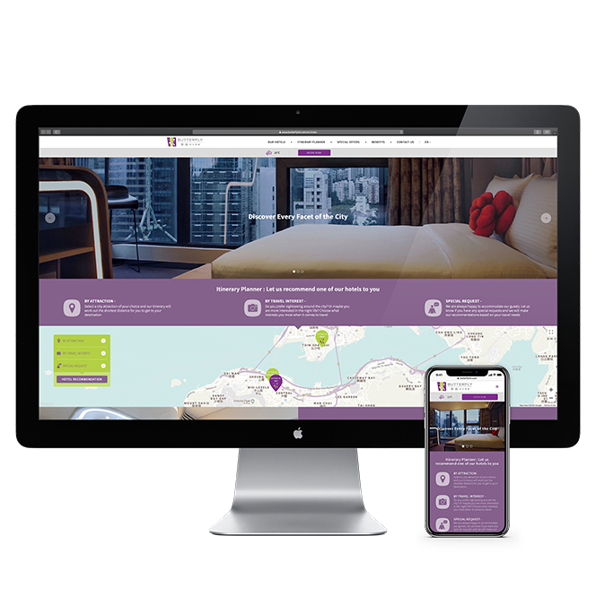 Butterfly Hotels Official Website image
