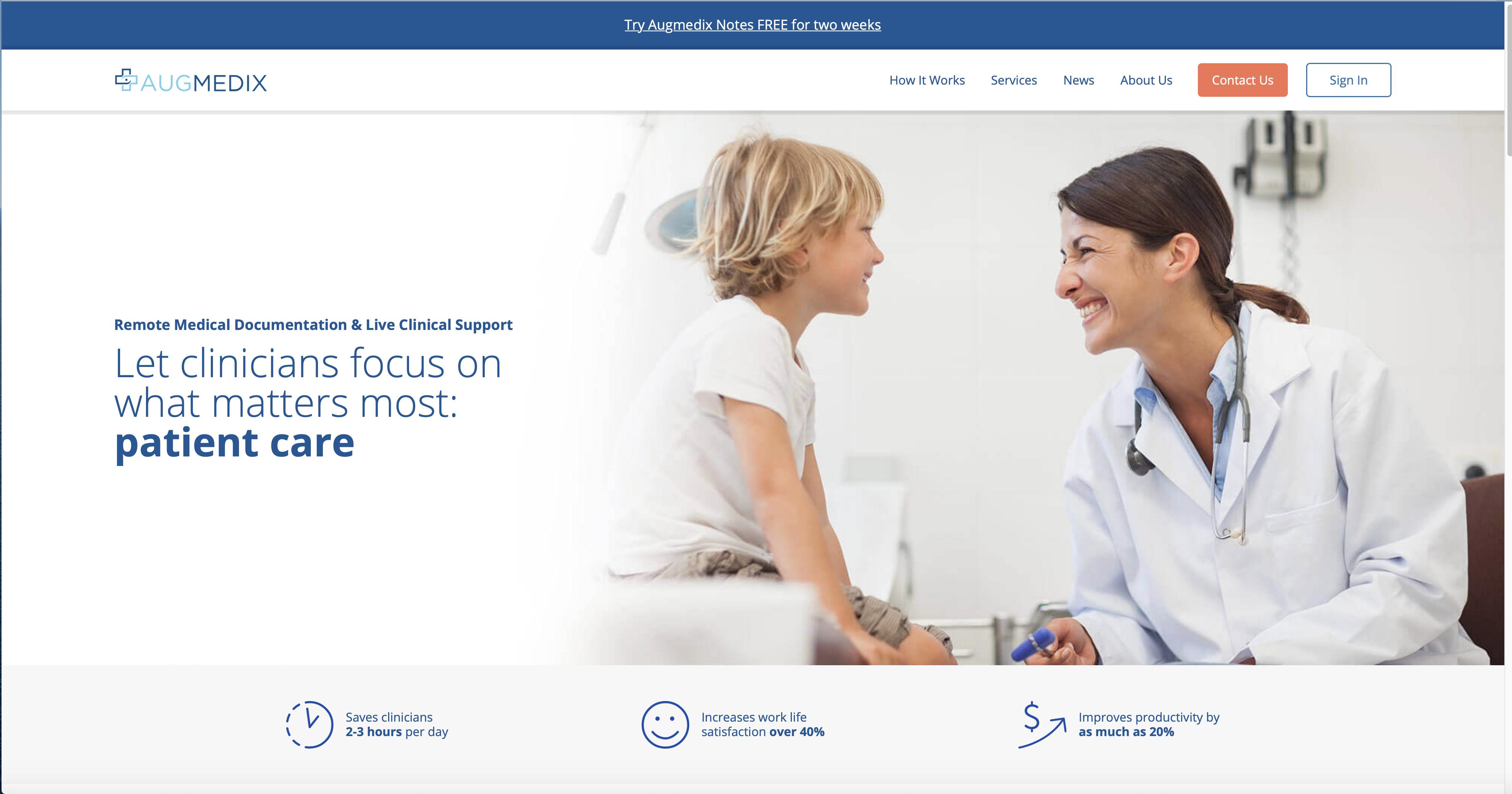 Augmedix is Rehumanizing Healthcare image