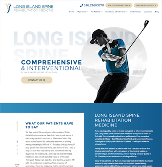 Long Island Spine Rehabilitation Medicine image