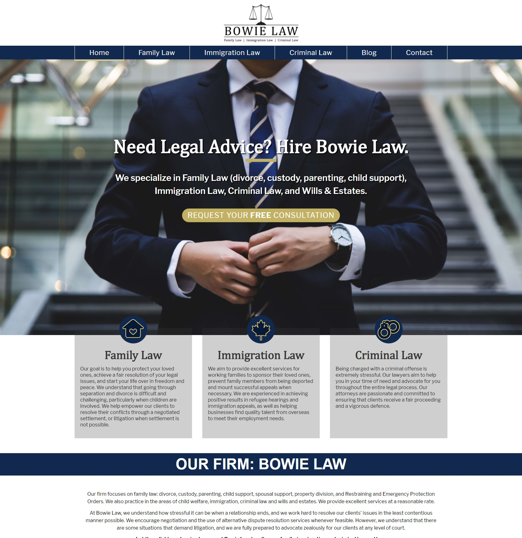 Bowie Law image