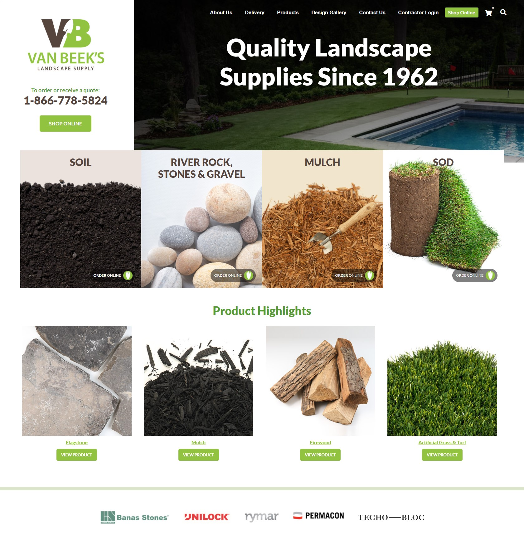 Van Beek's Landscaping Supply