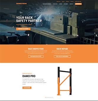 Damotech Corporate Website Redesign image