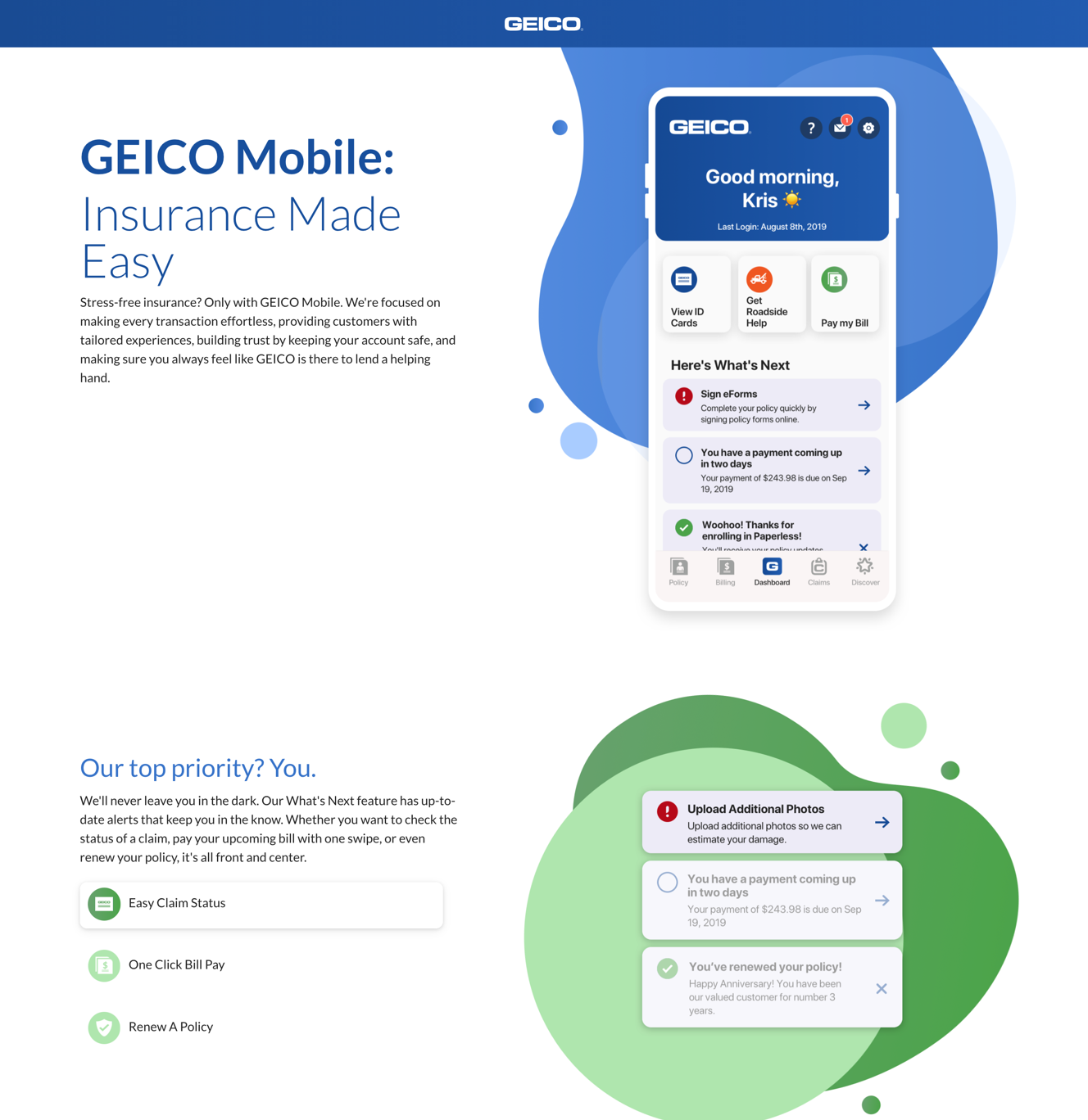 GEICO Mobile: Insurance Made Easy image
