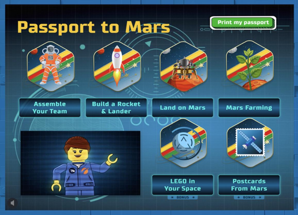 Passport 2 Mars