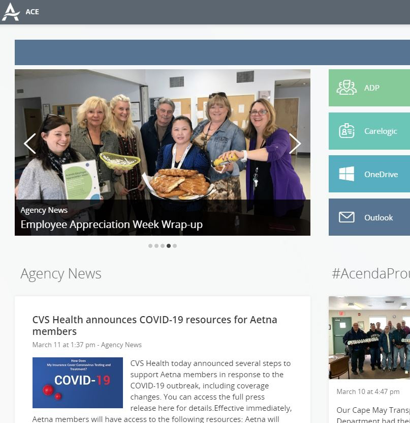 ACE: Acenda Communications for Employees