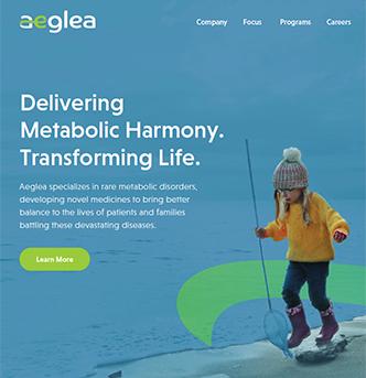 Aeglea BioTherapeutics Corporate Website