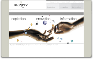 Signity  - Inspiration, Innovation, Information image