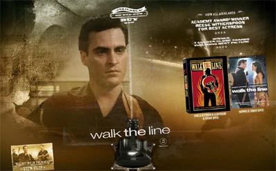 Walk the Line DVD Offiical Website image