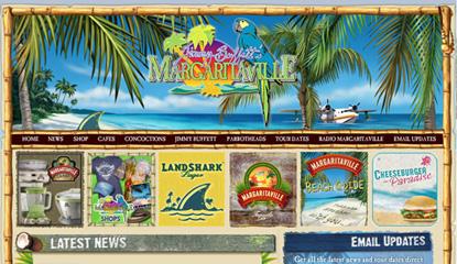 Jimmy Buffett's Margaritaville.com image
