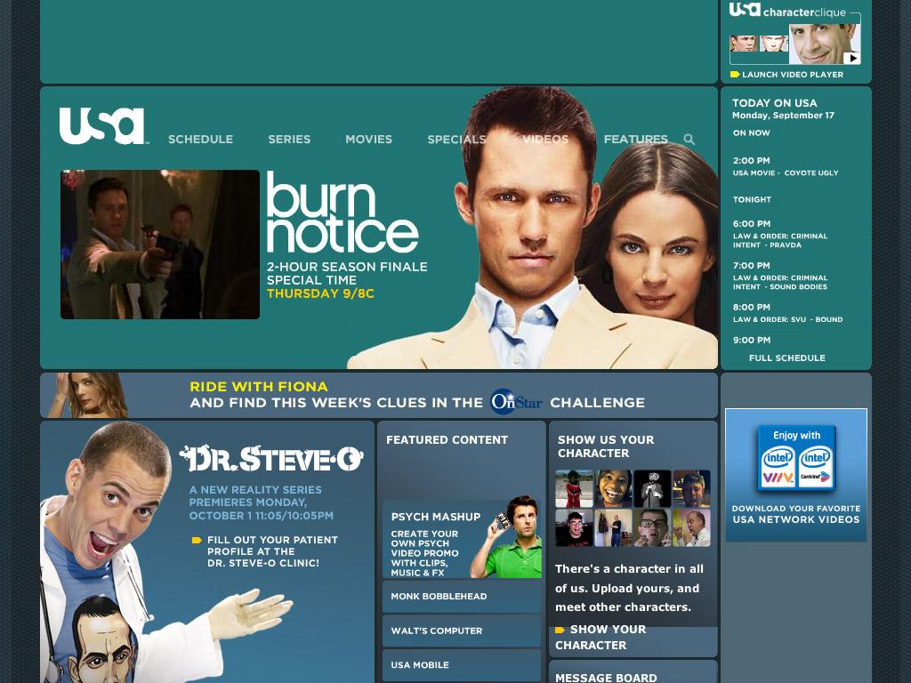 USANetwork.com image
