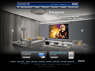 Ensemble HD Home Cinema System by Epson image